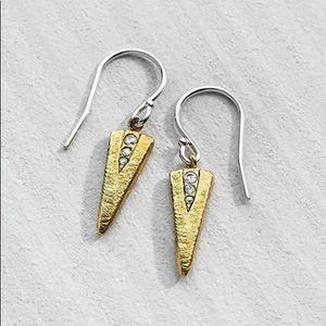 Silpada Jewelry - NEW SILPADA 'On the Point' Earrings Sterling CZ